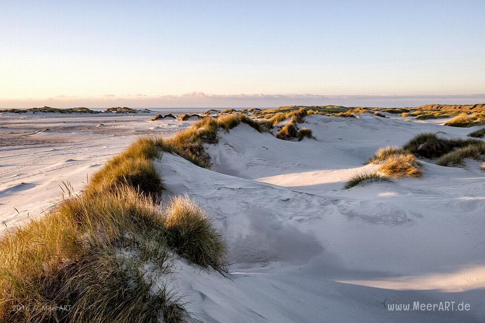 Die Nebensaison am Kniepsand auf der nordfriesischen Insel Amrum // Foto: MeerART