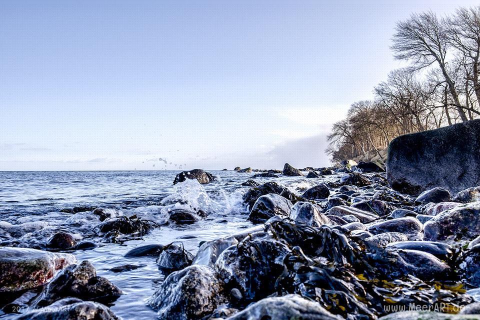 Naturstrand bei Katharinenhof auf der Ostseeinsel Fehmarn // Foto: MeerART