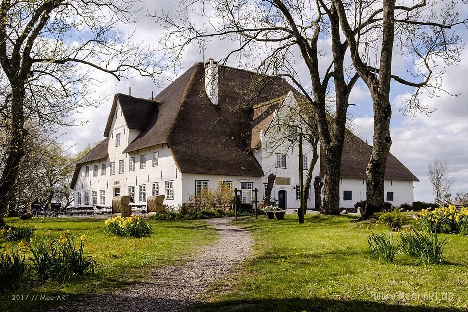 """Der """"Rote Haubarg"""", Gastronomie und Museum in dDer """"Rote Haubarg"""", Gastronomie und Museum in der Nähe von Witzwort // Foto: MeerARTer Nähe von Witzwort // Foto: MeerART"""