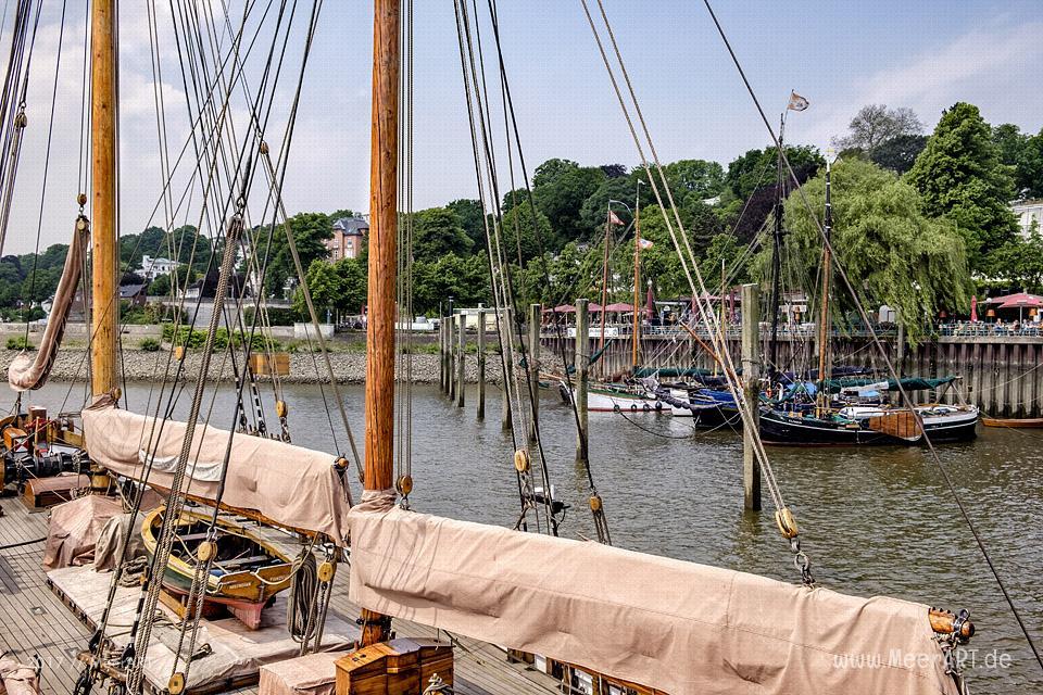 Impressionen aus dem Museumshafen Oevelgönne // Foto: MeerART