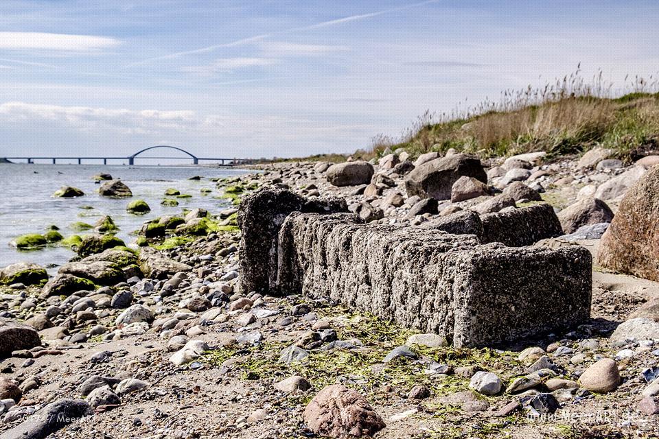 Idyllischer Strandabschnitt von Wulfen bis Fehmarnsund // Foto: MeerART