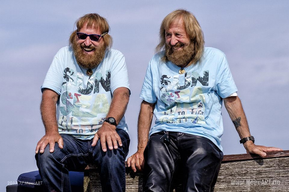Meet and Greet mit den Surftwins Manfred und Jürgen Charchulla auf Fehmarn // Foto: MeerART / Ralph Kerpa