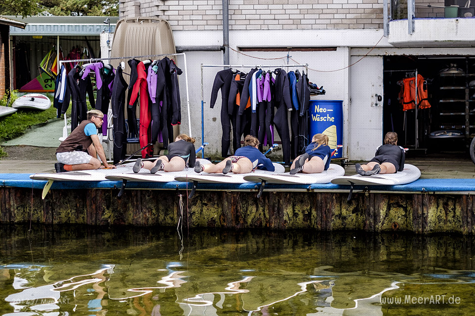 Meet and Greet mit den Surftwins Manfred und Jürgen Charchulla auf Fehmarn // Foto: MeerART