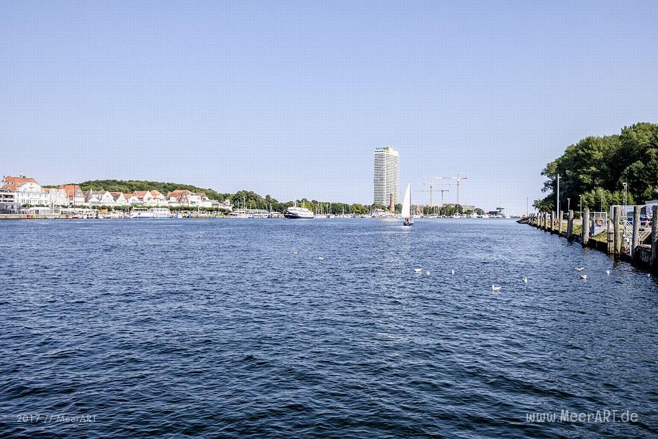 Stippvisite auf der Halbinsel Priwall in Travemünde // Foto: Ralph Kerpa