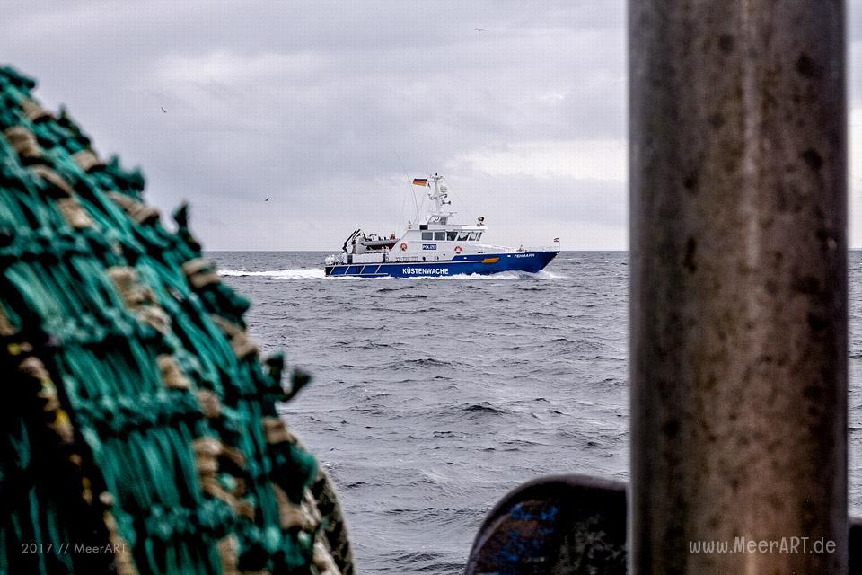 """Auf Fangfahrt vor Fehmarn mit Mike Hilger und seiner Crew auf der """"SB4 ANDREA"""" // Foto: Ralph Kerpa"""