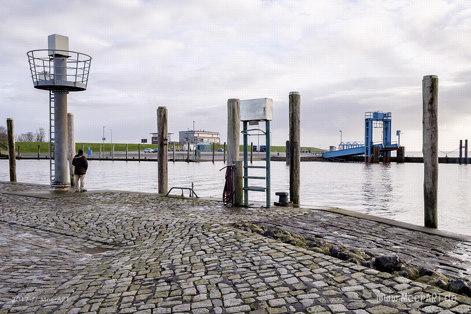 Der 1959 erbaute Hafen Schlüttsiel im Kreis Nordfriesland / Foto: Ralph Kerpa