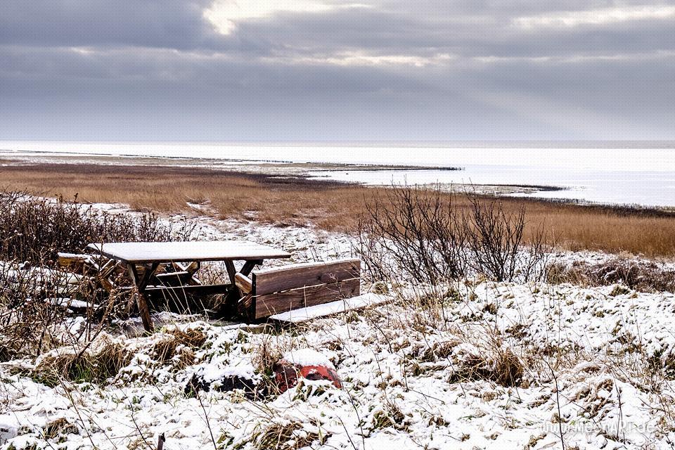 Das EMMERLEV KLEV in Dänemark ist eine der wenigen Steilküsten an der Nordsee // Foto: Ralph Kerpa