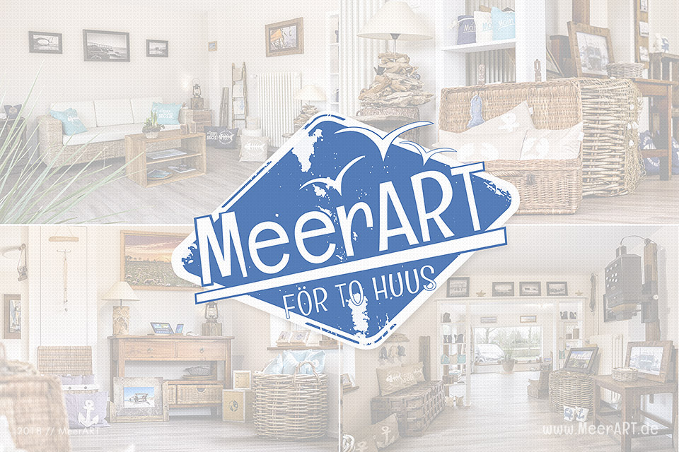 Unser Atelier MeerART för to Huus an der Westküste in Langenhorn (Nordfriesland)