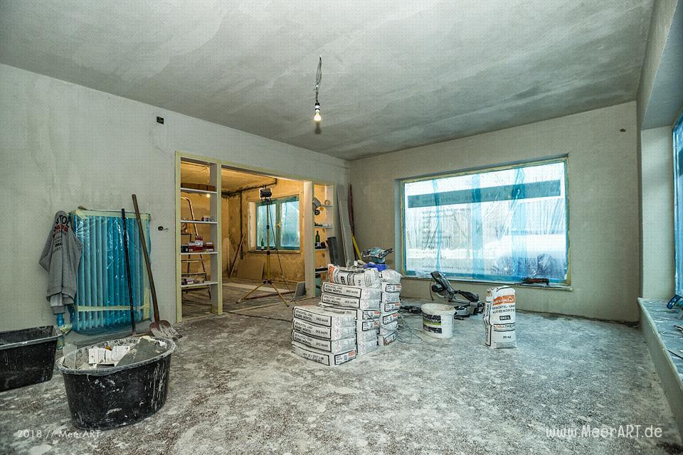 Renovierung der Atelierräume 2017 in Langenhorn // Foto: MeerART