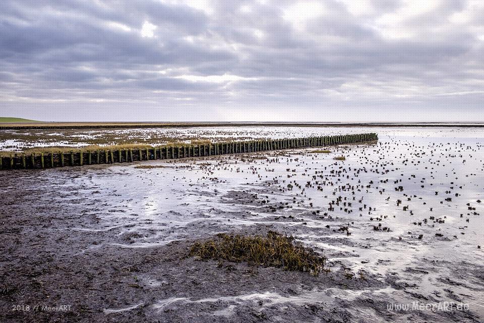 Küstenabschnitt an der Nordsee zwischen Ockholm und Schlüttsiel // Foto: Ralph Kerpa