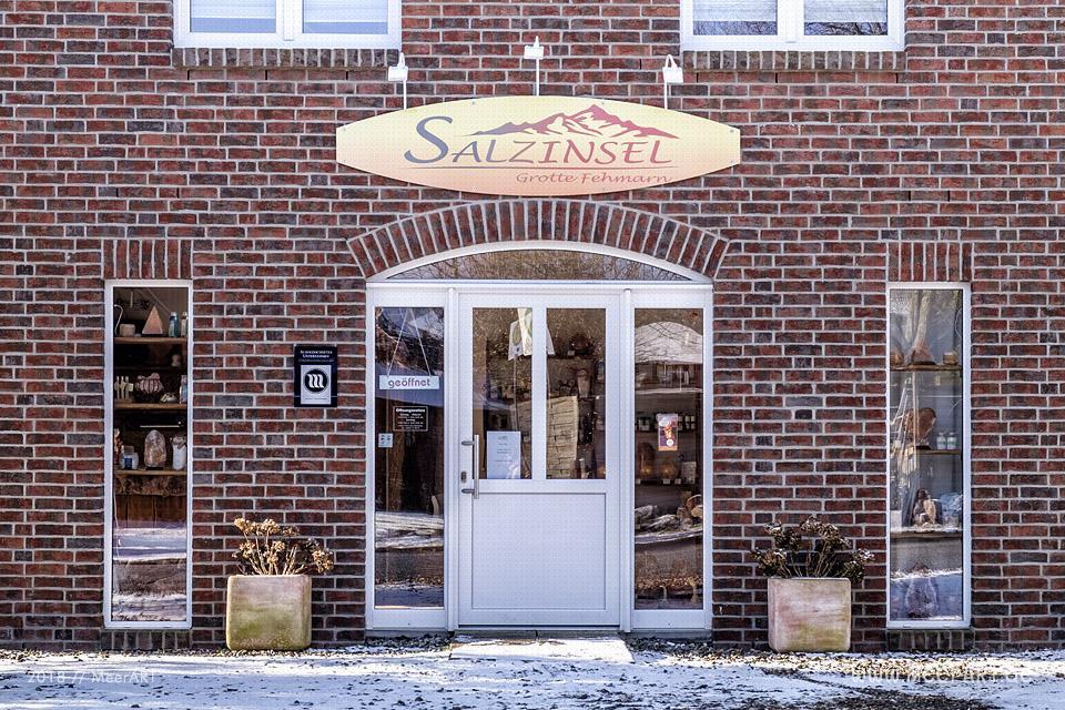 Die Salzgrotte in Petersdorf // Foto: MeerART