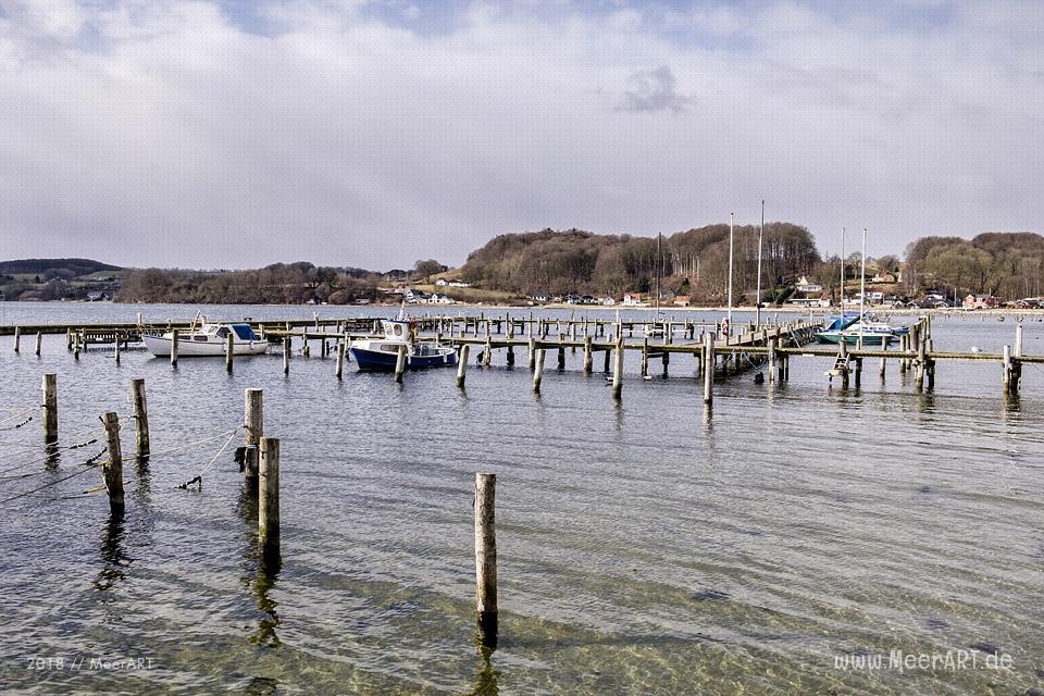 Genner Strand an der Ostseeküste zwischen Apenrade und Hadersleben // Foto: Ralph Kerpa