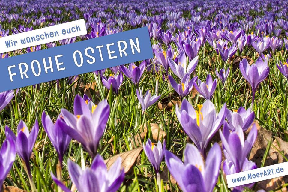 Wir wünschen euch allen frohe Ostern // Foto: MeerART
