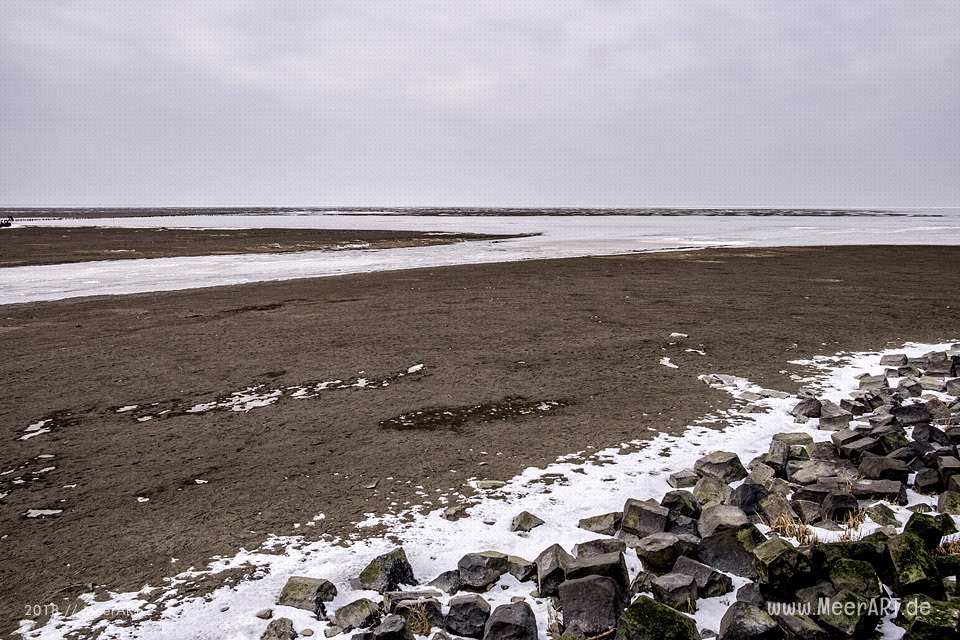 Wintereinbruch im Naturschutzgebiet Rickelsbüller Koog // Foto: Ralph Kerpa