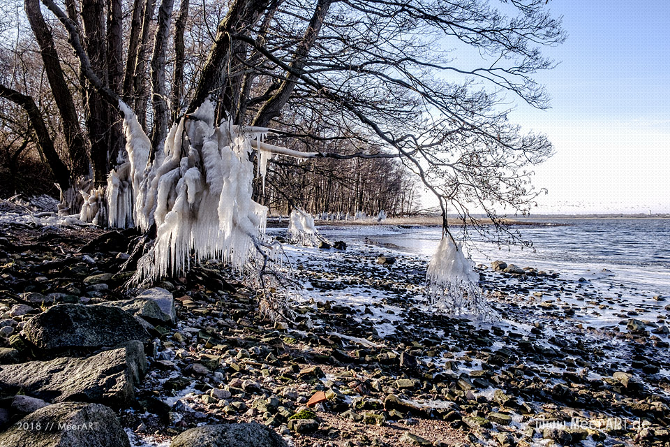 Sonnige Winterimpressionen von der Schlei // Foto: MeerART / Ralph Kerpa