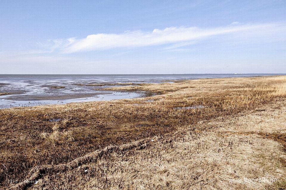 Am Nordseestrand entlang von Hjerpsted zum Emmerlev Klev // Foto: MeerART / Ralph Kerpa