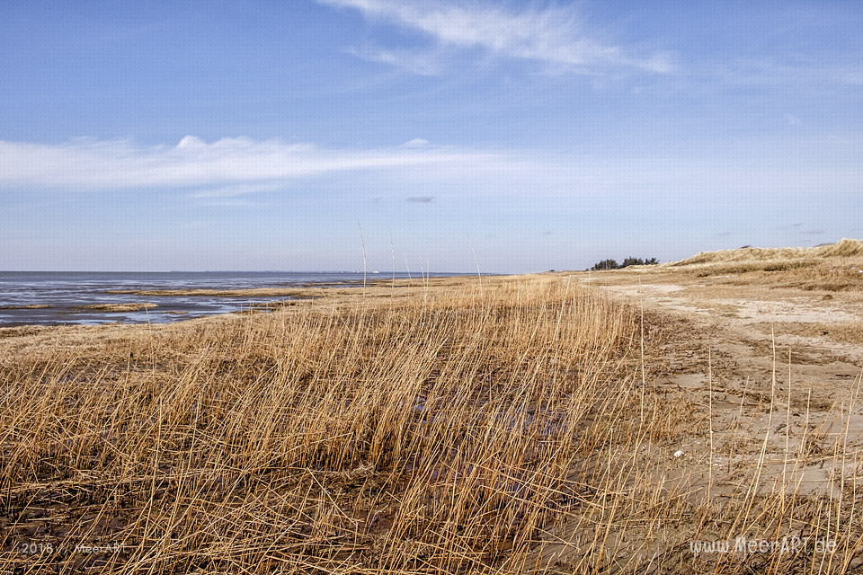 Am Nordseestrand entlang von Hjerpsted zum Emmerlev Klev // Foto: MeerART / Ralph KerpaAm Nordseestrand entlang von Hjerpsted zum Emmerlev Klev // Foto: MeerART / Ralph Kerpa