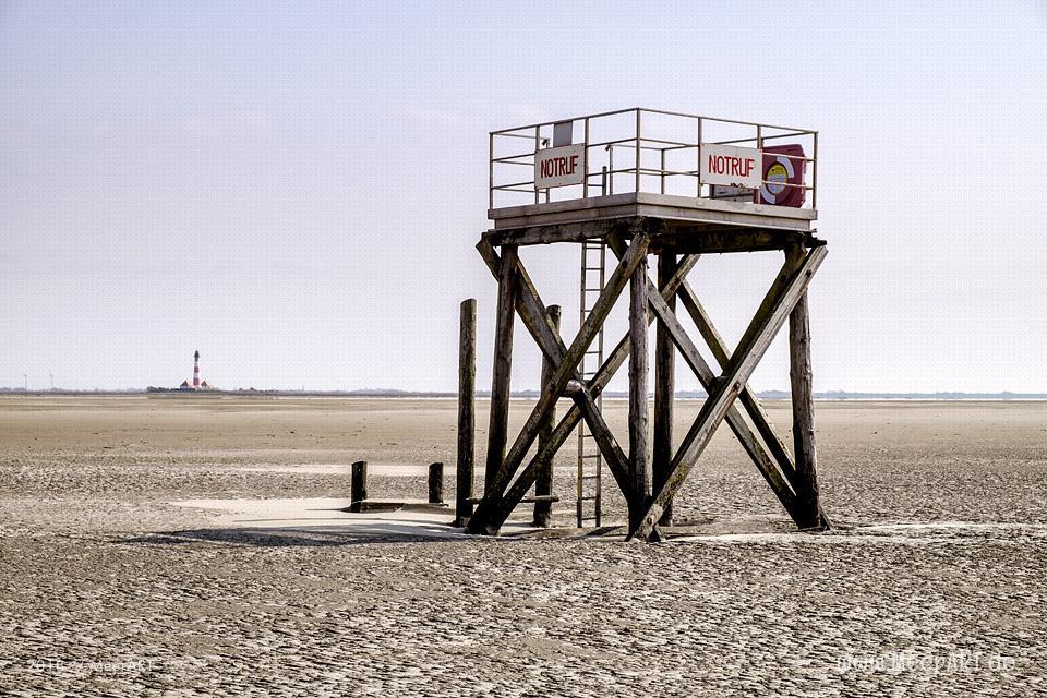 Wenn die Westerhever Sandbank ruft // Foto: Ralph Kerpa
