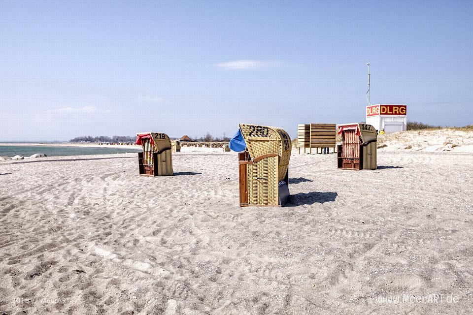 Start in die Saison am Südstrand auf der Sonneninsel Fehmarn // Foto: MeerART