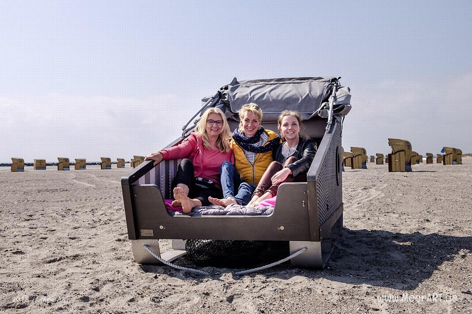 Außergewöhnliche Schlafmöglichkeiten auf der Sonneninsel Fehmarn // Foto: MeerART