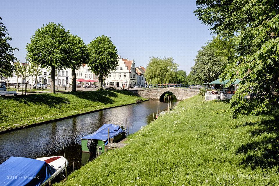 Die idyllische Holländerstadt Friedrichstadt im Wandel // Foto: MeerART / Ralph KerpaDie idyllische Holländerstadt Friedrichstadt im Wandel // Foto: MeerART / Ralph Kerpa