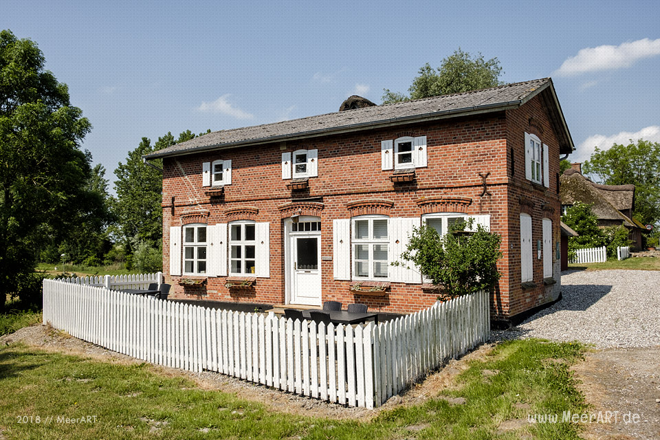 Die idyllische Grenzdorf Rudbøl an Dänemarks Westküste // Foto: MeerART