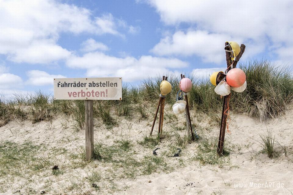 Strandgut am Lister Ellenbogen // Foto: MeerART / Ralph Kerpa