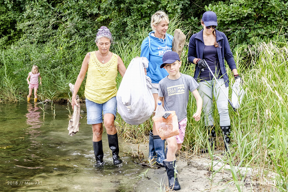 Zu Besuch bei Kristian Dittmann dem Müllfischer von der Schlei // Foto: MeerART / Ralph Kerpa
