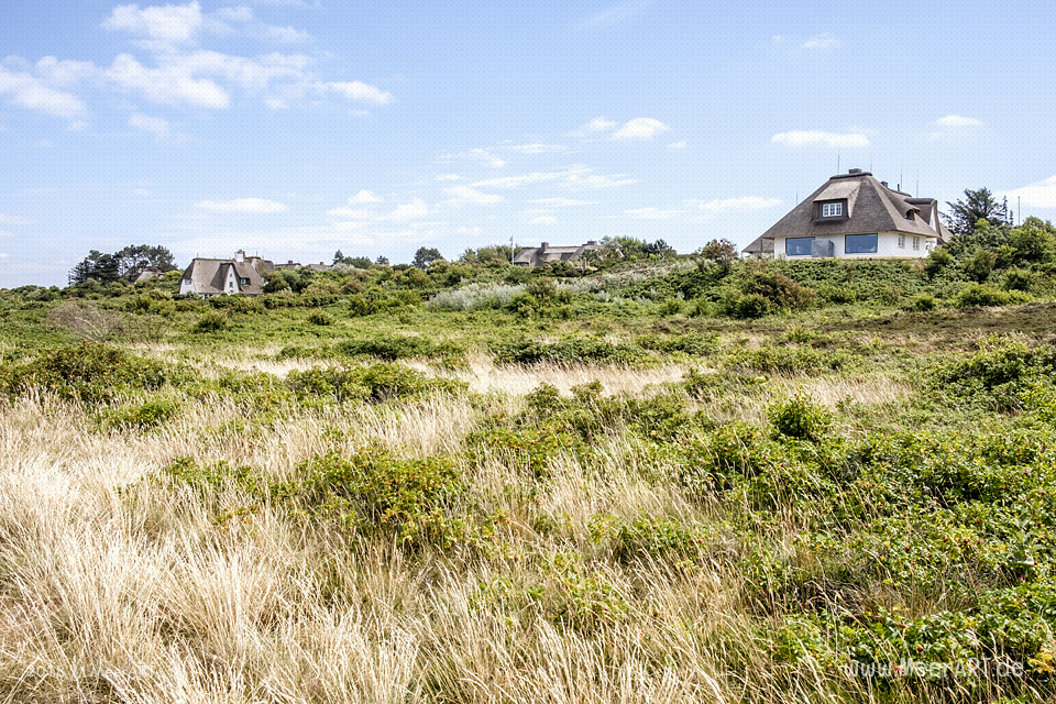 Reetdachhäuser in Kampen auf Sylt // Foto: MeerART