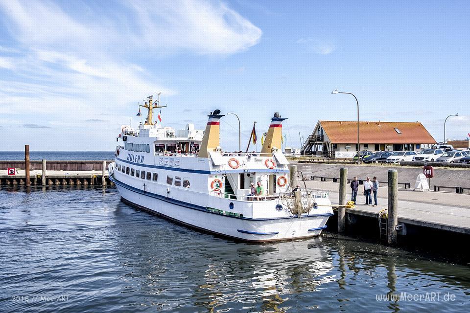 Der Hafen von Hörnum auf der Insel Sylt // Foto: MeerART