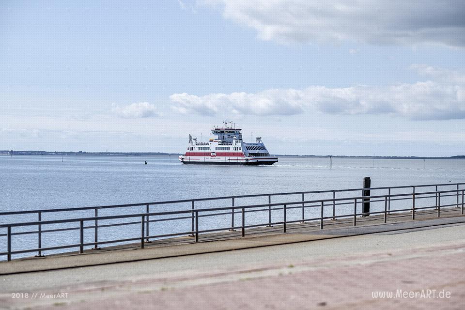 Das Tor zu den Nordfriesischen Inseln - Dagebüll mit seinem Fährhafen // Foto: MeerART