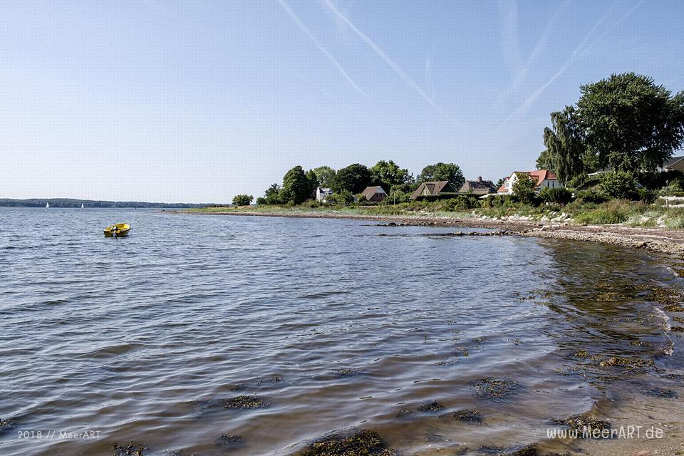 Ausflug entlang der Flensburger Förde vom dänischen Sønderhav bis Lysabildkov // Foto: MeerART
