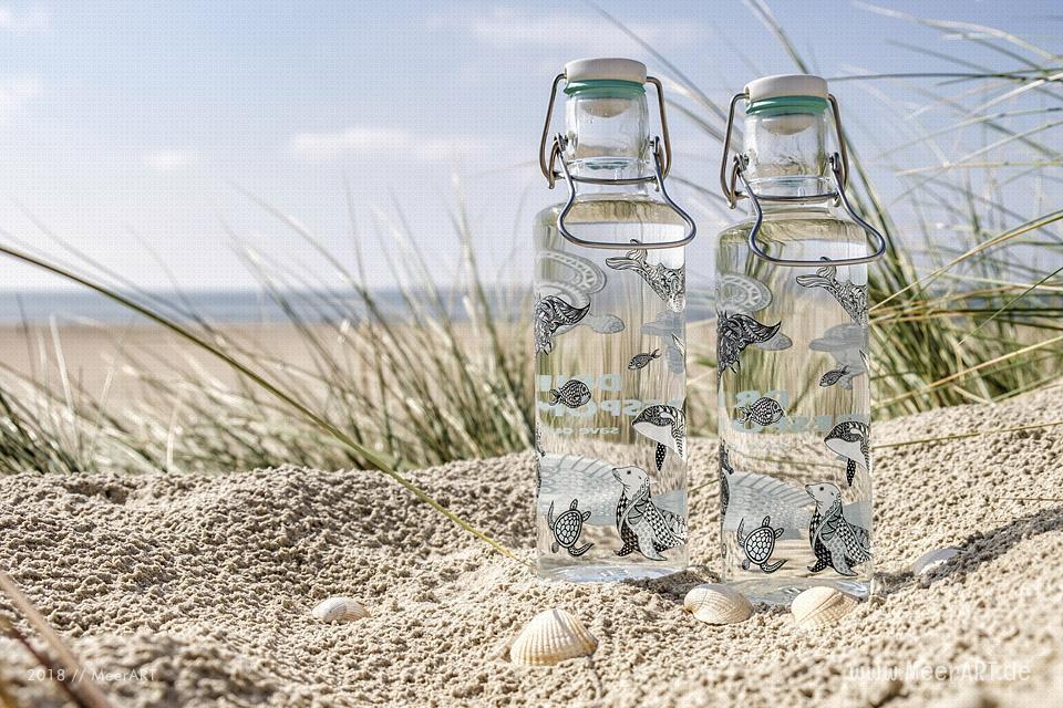 """Reportage zum Thema """"Wie wird Glas richtig recycelt?"""" // Foto: MeerART"""
