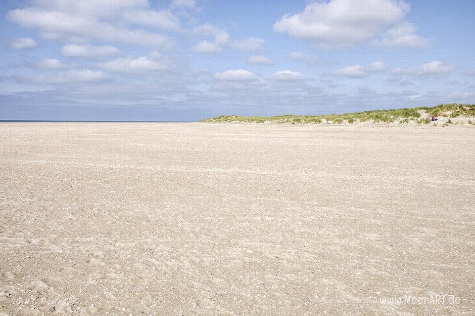 Ein schöner Spätsommertag auf der dänischen Wattenmeerinsel Rømø // Foto: MeerART / Ralph Kerpa