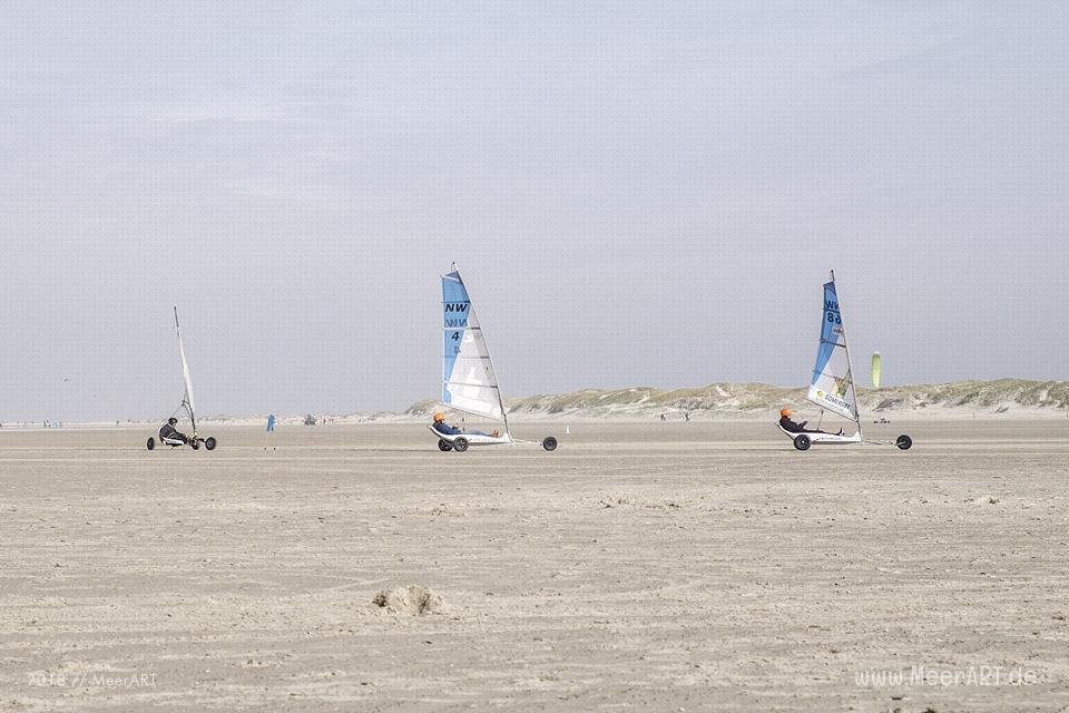 Schnupperkurs im Strandsegeln in SPO // Foto: Claudia Kerpa