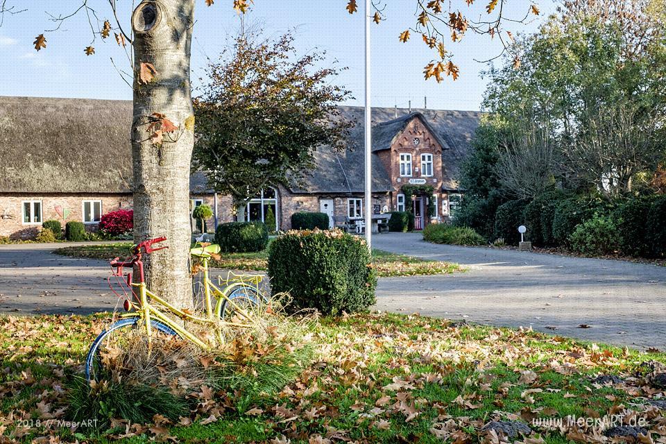 Herbstliche Impressionen aus der Gemeinde Bargum in Nordfriesland // Foto: MeerART