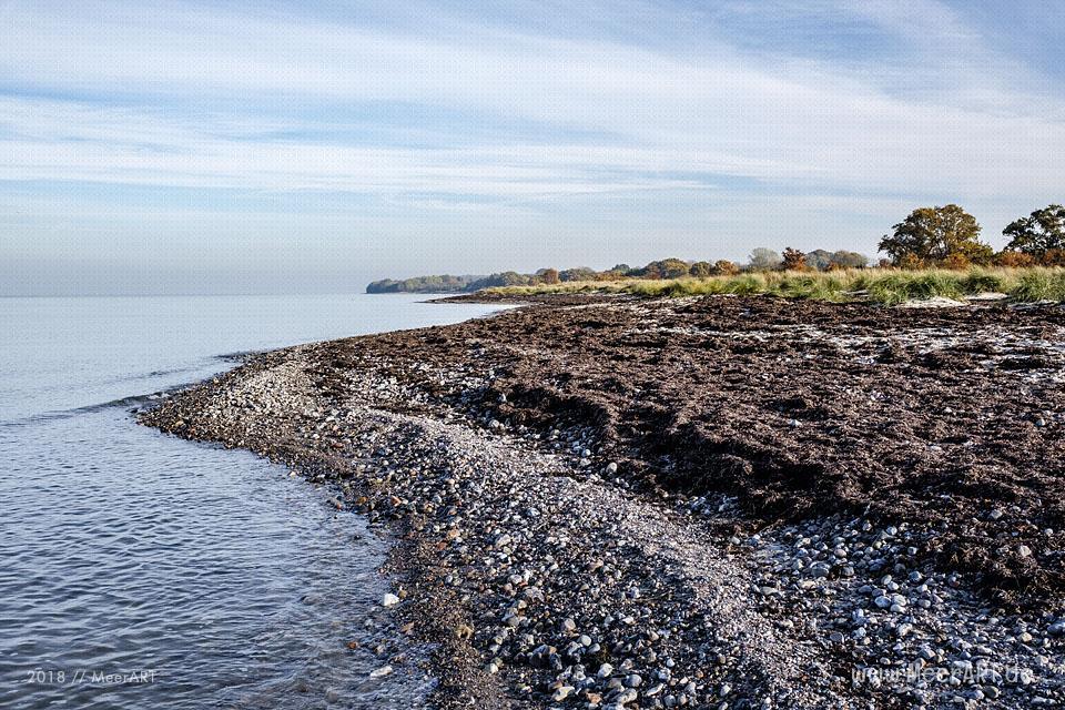 Die Eckernförder Bucht zwischen Traum und Wirklichkeit // Foto: MeerART / Ralph Kerpa