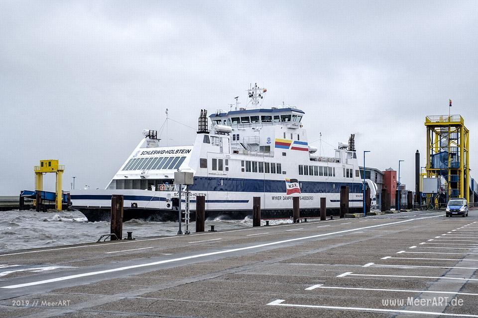Dagebüll mit seinem Fährhafen an der Nordseeküste in Nordfriesland // Foto: MeerART / Ralph Kerpa