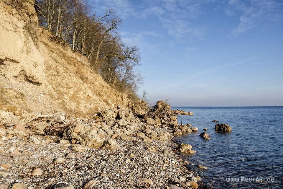 """Die dänische Ostseeküste bei der """"Diernæs Bugt"""" in Südjütland // Foto: MeerART"""