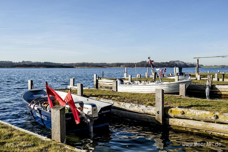 Wenn in Maasholm an der Schlei die Wintersonne lockt // Foto: MeerART / Ralph Kerpa