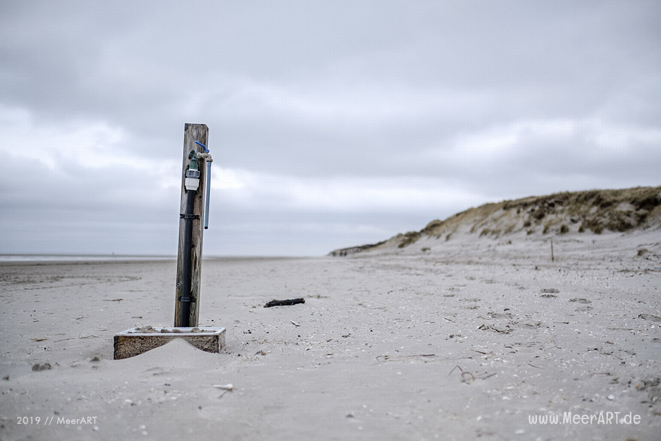Der unendliche Kniepsand auf der Nordseeinsel Amrum // Foto: MeerART / Ralph Kerpa