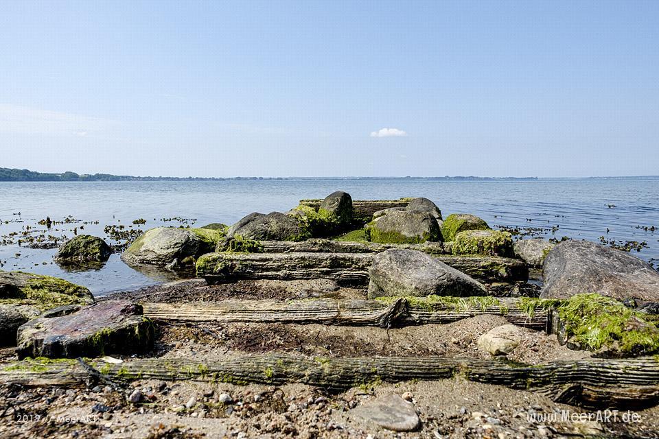 Zwischenstopp am Natrstrand im beschaulichen Bockholmwik an der Ostsee // Foto: MeerART