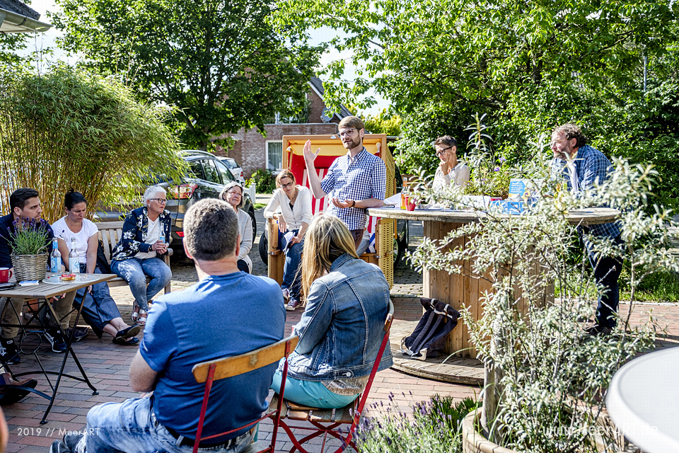 "Auftaktveranstaltung zum ""Drievels-Festival 2019"" bei MeerART in Langenhorn // Foto: MeerART"