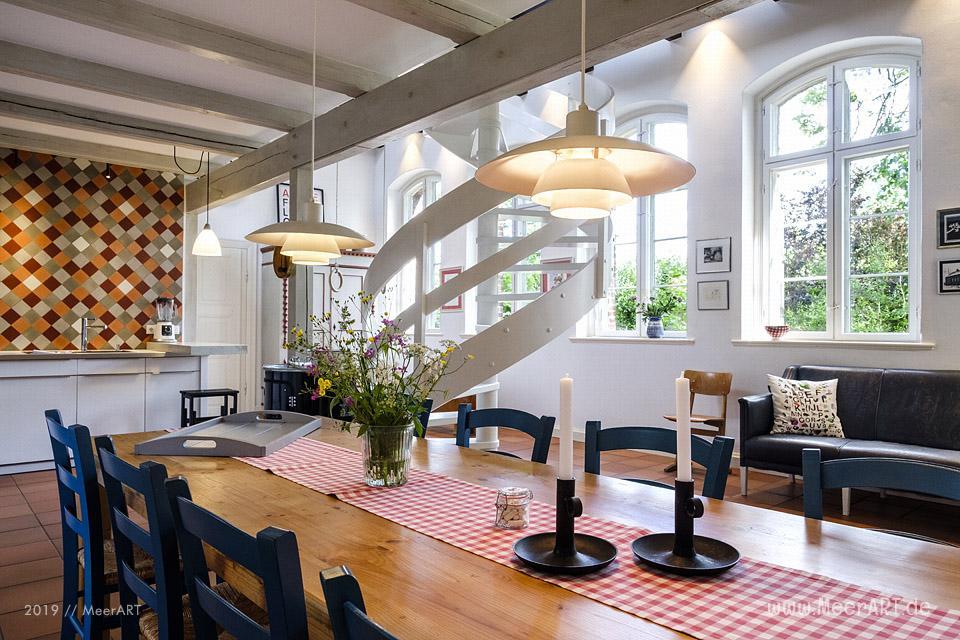 Die wunderschöne HARMSCHOOL ein Ferienhaus mit Vergangenheit // Foto: MeerART / Ralph Kerpa