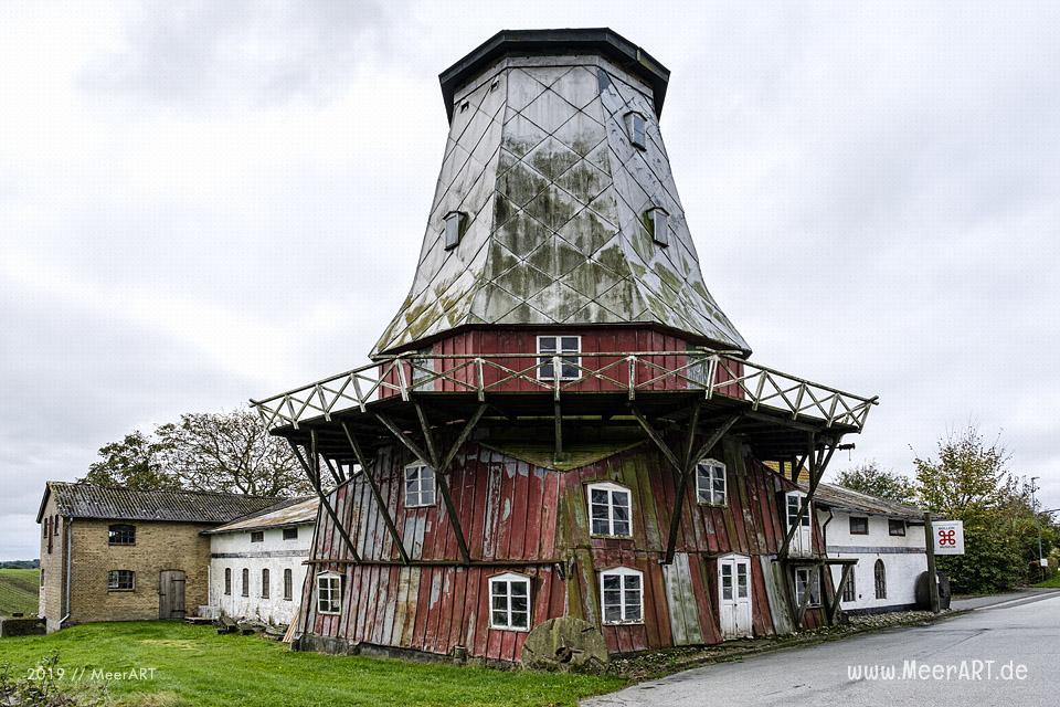 Das Windmühlen-Museum in Elstrup // Foto: MeerART