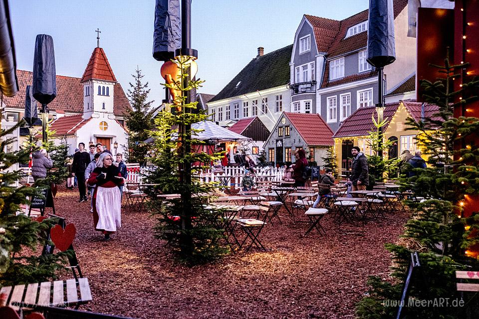 Der Weihnachtsmark von Aabenraa in Sønderjylland // Foto: MeerART