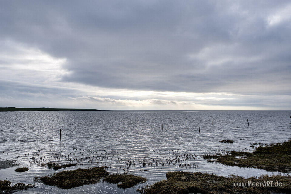 Kleiner Ausflug mit einem Spaziergang auf Nordstrand // Foto: MeerART / Ralph Kerpa