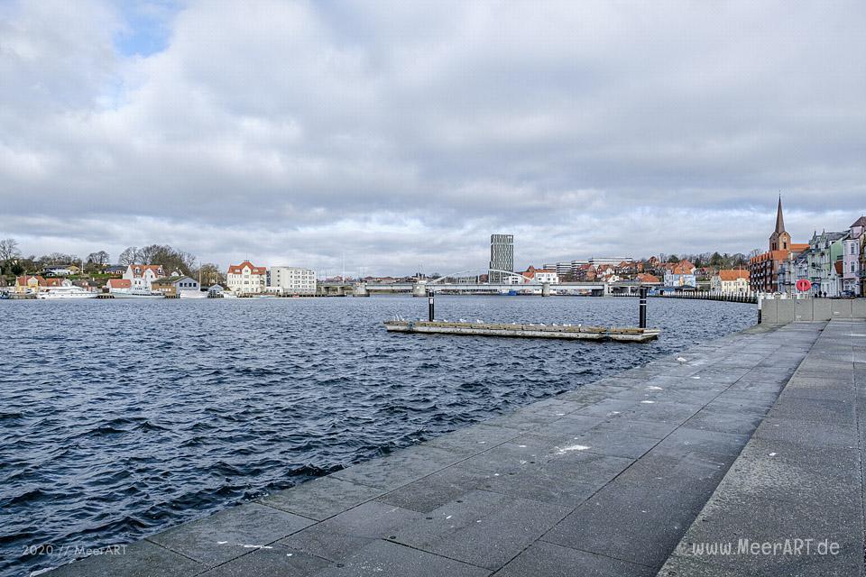 Sønderborg eine Stadt mit ganz viel Meer-Flair // Foto: MeerART