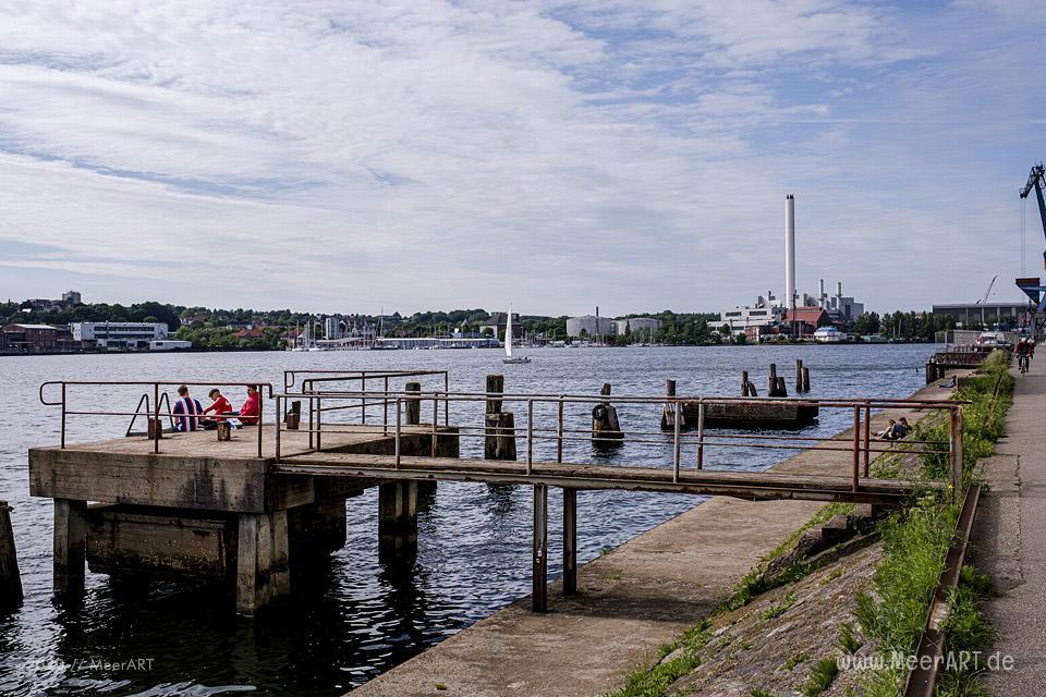 Spaziergang an der Flensburger Förde // Foto: MeerART