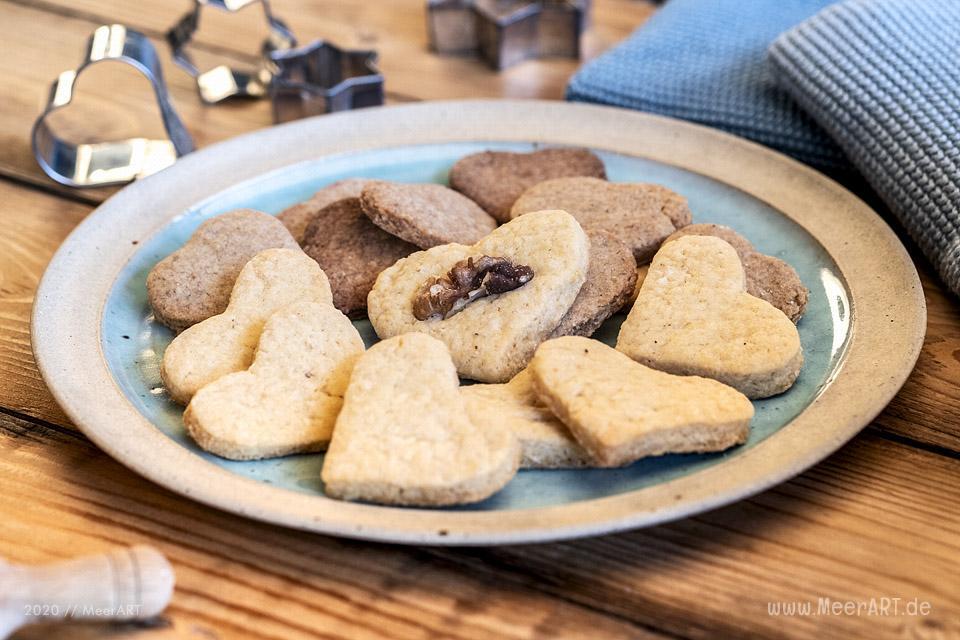 Rezept-Tipp: Klassische Weihnachtsplätzchen á la Mama // Foto: MeerART